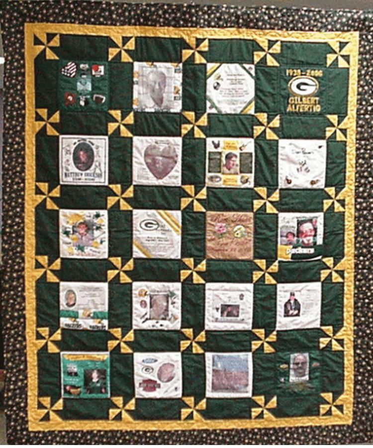 Patch Green Bay Packers Quilt Great Quilt! Would love to have ... : green bay packers quilt - Adamdwight.com