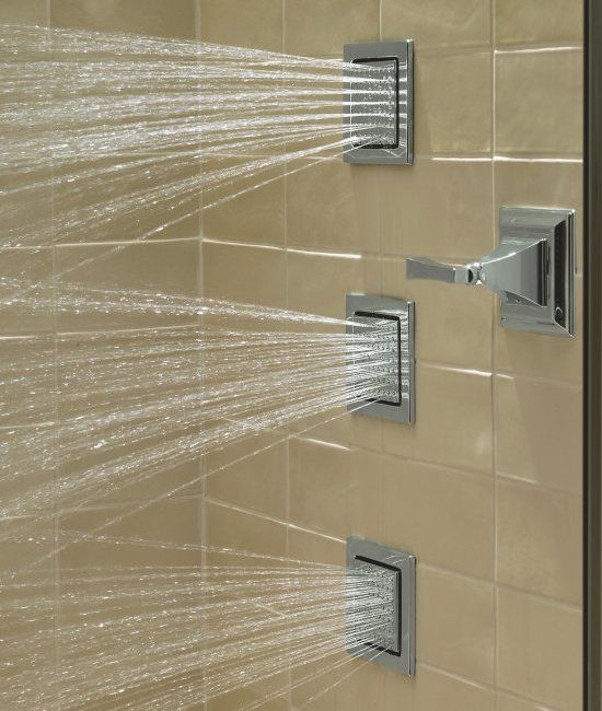 Videos Of Delta Rain Shower Heads With Body Spray The New