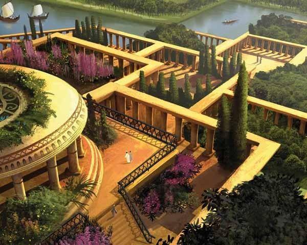 Controversias Jardines Babilonia El Universo Pinterest