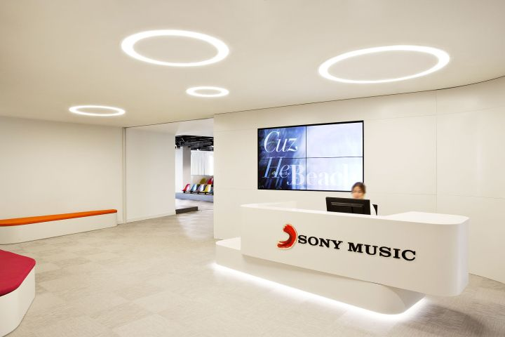Cool offices Sony Music HQ in Madrid, Spain Office Pinterest - innovatives interieur design microsoft