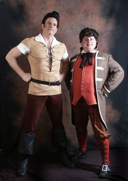 Gaston And Lefou Beauty And The Beast Costume Beast Costume Beauty And The Beast