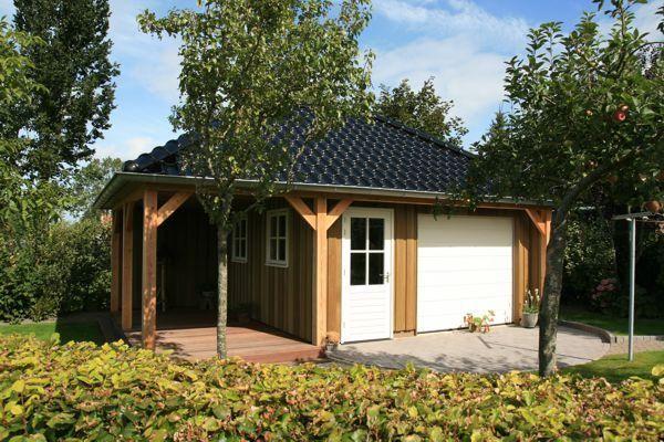 Garage Met Veranda : Houten schuur met veranda google zoeken inspiratie schuurtje
