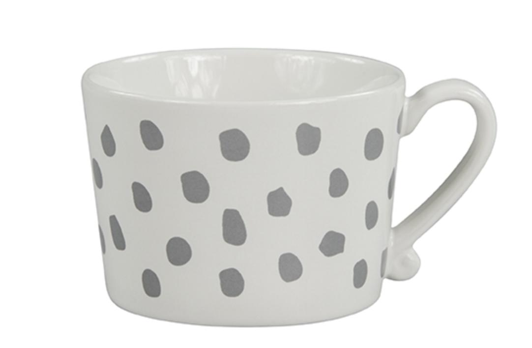 Photo of Large Mug Selection – Big Dots Grey