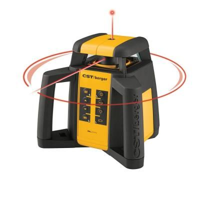 Cst Berger 2000 Ft Self Leveling Horizontal Vertical Rotating Laser Level Kit 6 Piece Plumbing Problems Plumbing Tools Electrical Installation