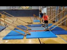ninja warrior training im sportunterricht  youtube in