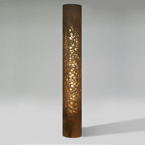 Bullet Column Lighted Sculpture