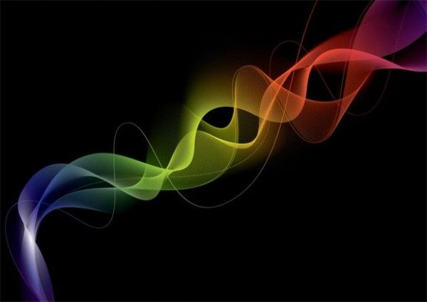 Colorful Plumes of Smoke Vector Abstract Background - http://www.dawnbrushes.com/colorful-plumes-of-smoke-vector-abstract-background/