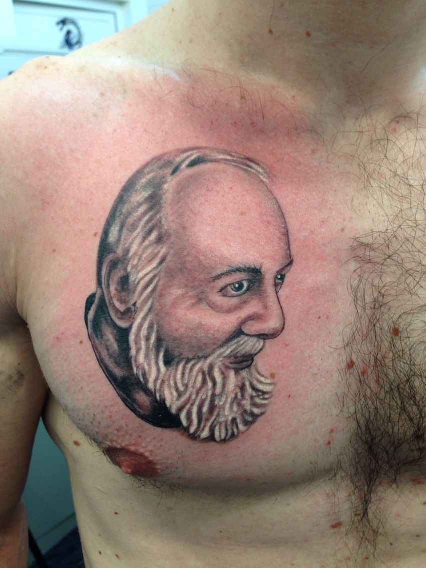 tattoo padre pio