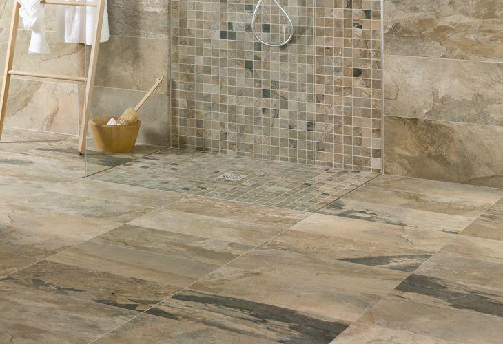 Serie bengal pavimento in gres porcellanato effetto pietra ...