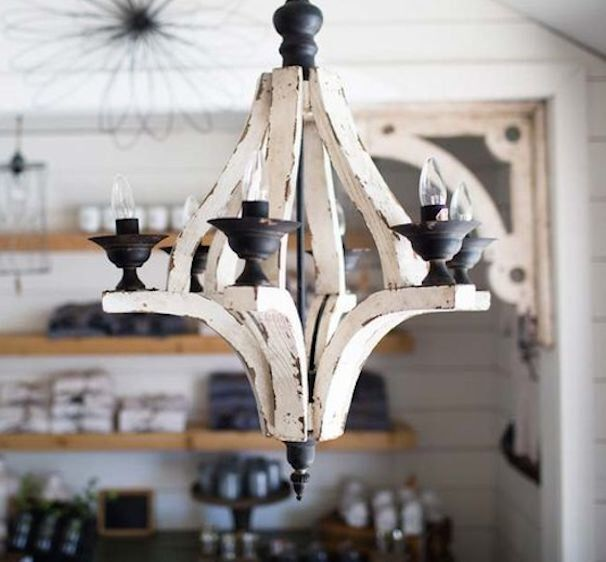 Rustic Chandelier Farmhouse Chandelier Shabby By Makariosdecor: Pin By Kimberly Kelly On HOUSE Ideas: Next Time Around