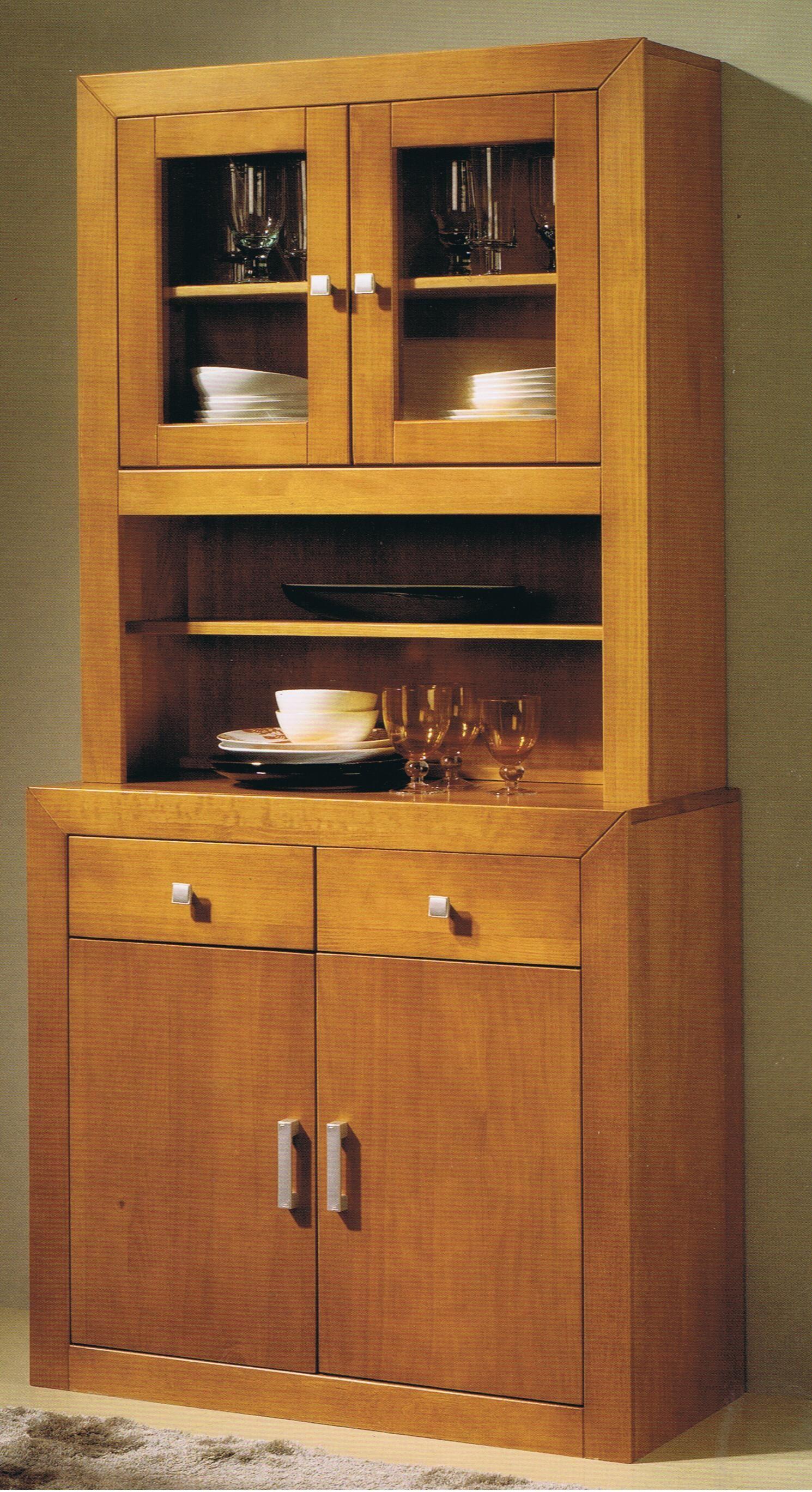 Alacena kynus nova alacena 2 puertas medidas 187x91x42 - Muebles de cocina madera maciza ...