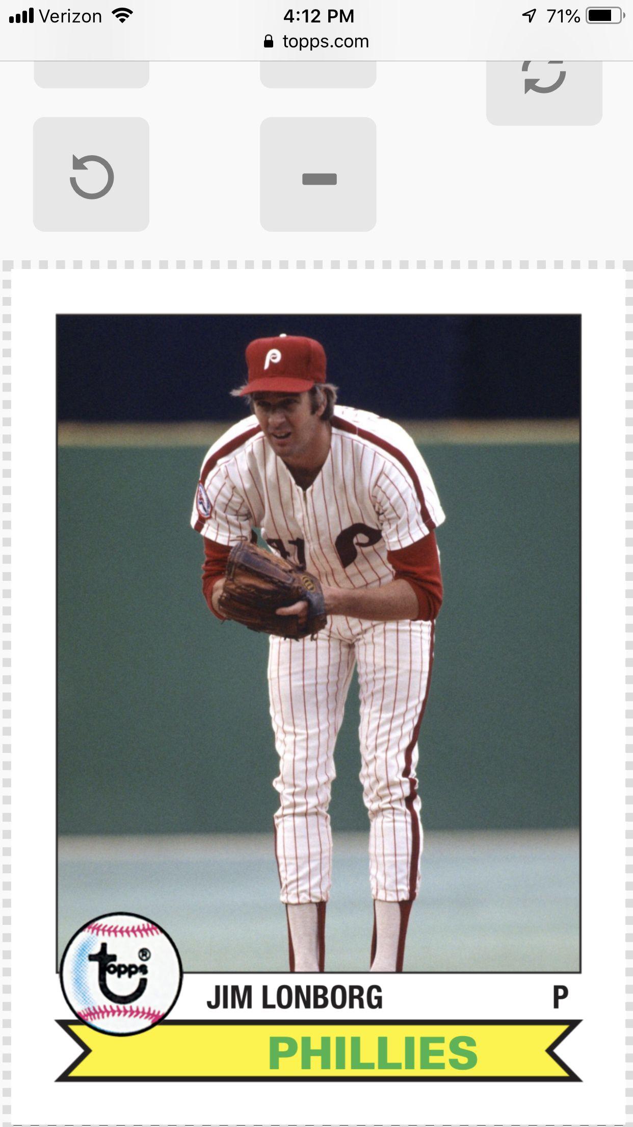 Pin by John Bradley on phillies Phillies, Baseball cards