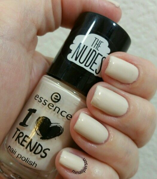 notd #nailpolish #nailpolishaddict #Essence #INudeIt | My Nails ...