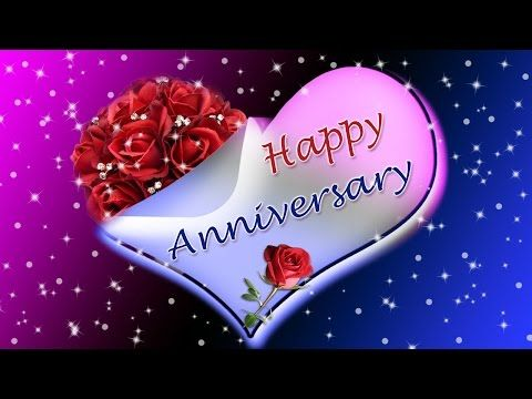 Wedding marriage anniversary video greetings youtube animated