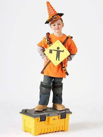 Work ManS Outfit  Halloween Custumes  Kids