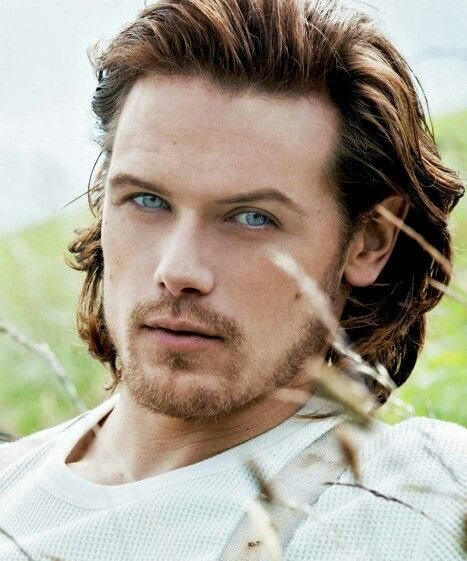 Sam Heughan (Jamie from Outlander)...when I saw the first ...