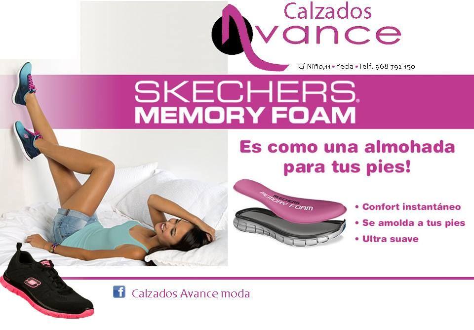 skechers memory foam plantillas