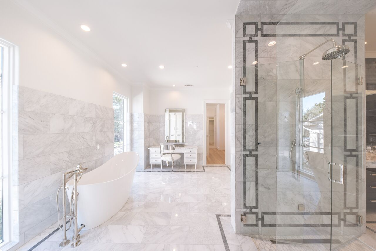 Danes Custom Homes built a gorgeous Santa Barbara Mediterranean in ...