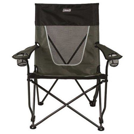 walmart chairs camping chill out chair free shipping on orders over 35 buy coleman ultimate comfort sling gray at com