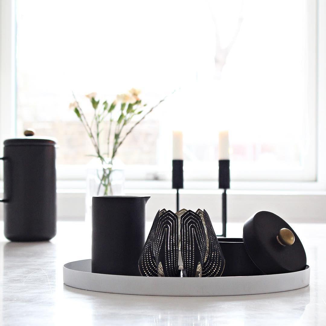 Dejlig stille fredag hjemme Er helt vild med min nye lysestage Tusind tak @nordicin.dk