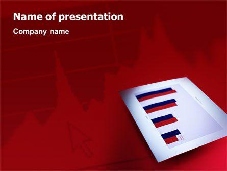 wwwpptstar powerpoint template red-histogram  Red - histogram template