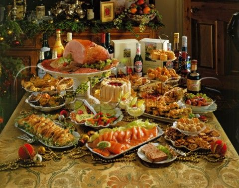 A Feast At Thanks Giving I Love The Idea Of Home With Good Family Christmas