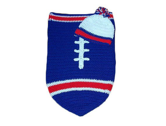 Buffalo Bills Fan Favorite Baby Boy Football Cocoon   Hat (Newborn ... 74f5136651f5