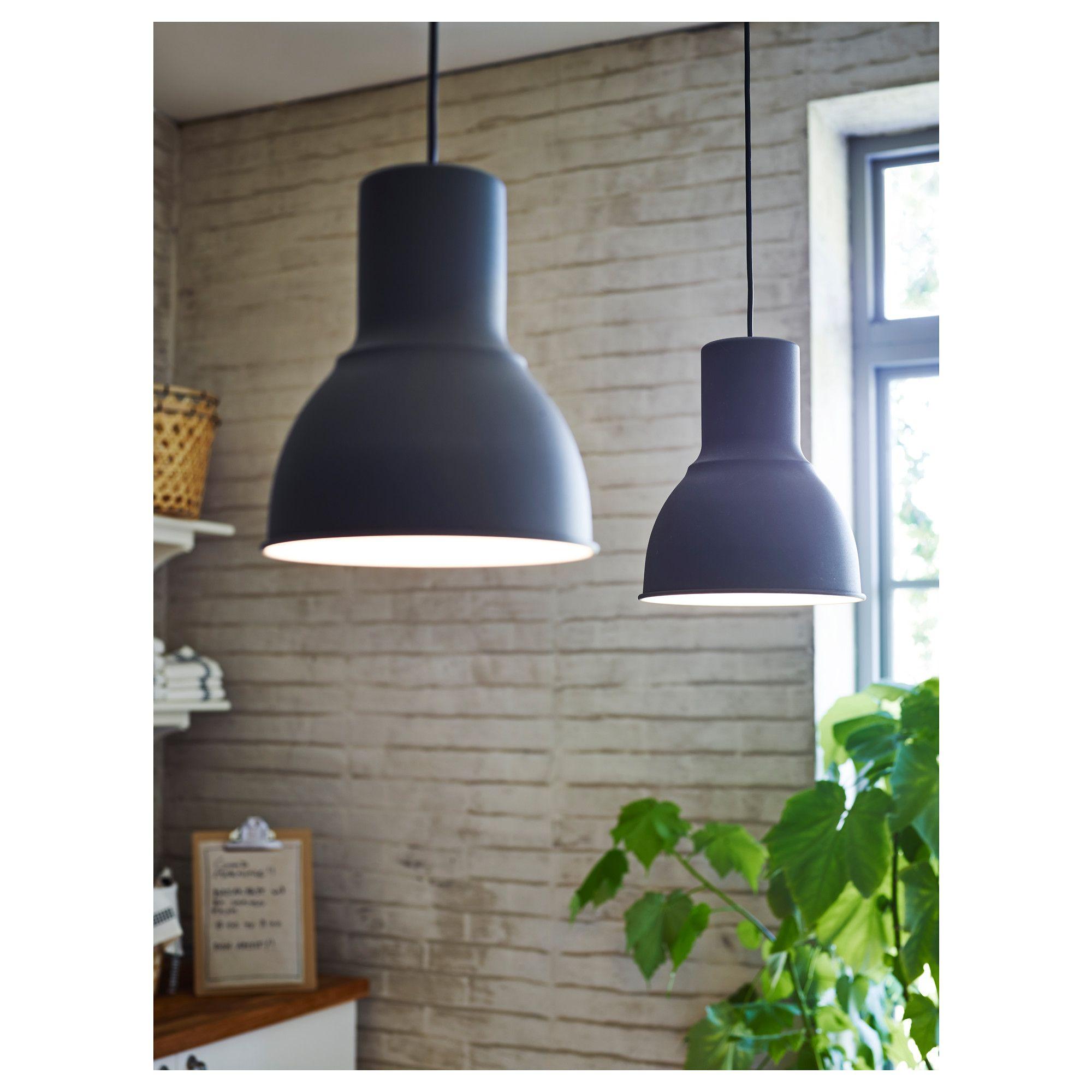 Ikea Hektar Pendant Lamp Dark Gray I 2019 Lampor