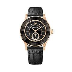 Octea Classica Black Rose Gold Tone Reloj