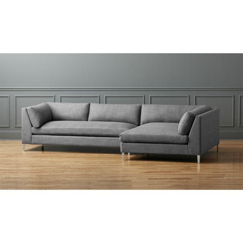 decker 2-piece sectional sofa - Decker 2-piece Sectional Sofa Sofas And Sectional Sofas