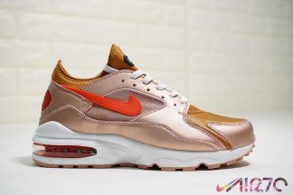 Buy Nike Air Max 93  Nebula Blue  White-Total Orange-Black 306551 ... 5cff9382e