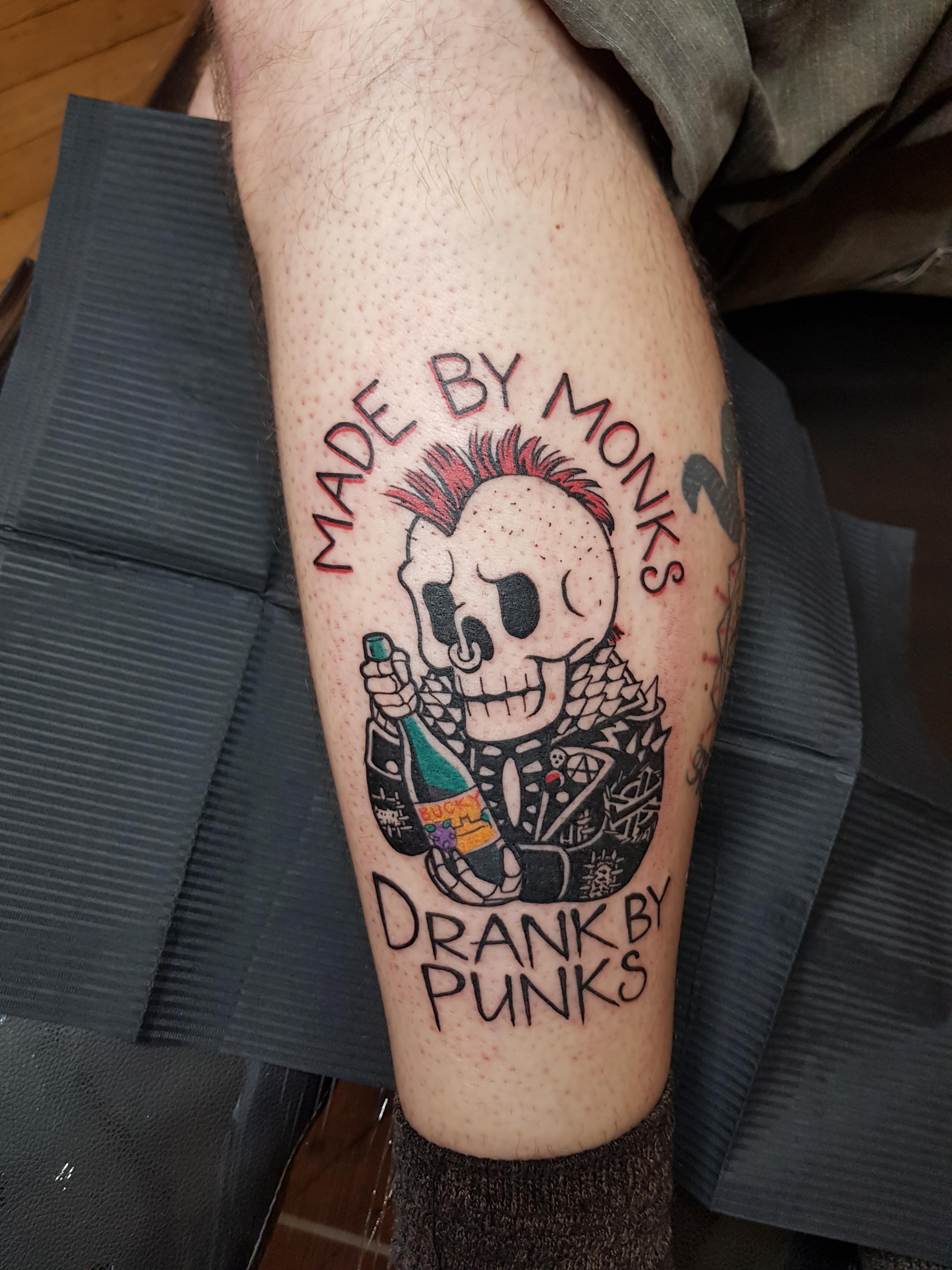 Punk tattoo Top 71