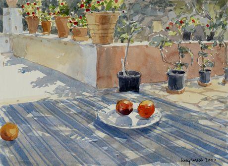 Lucy Willis, une aquarelliste anglaise…maître de la