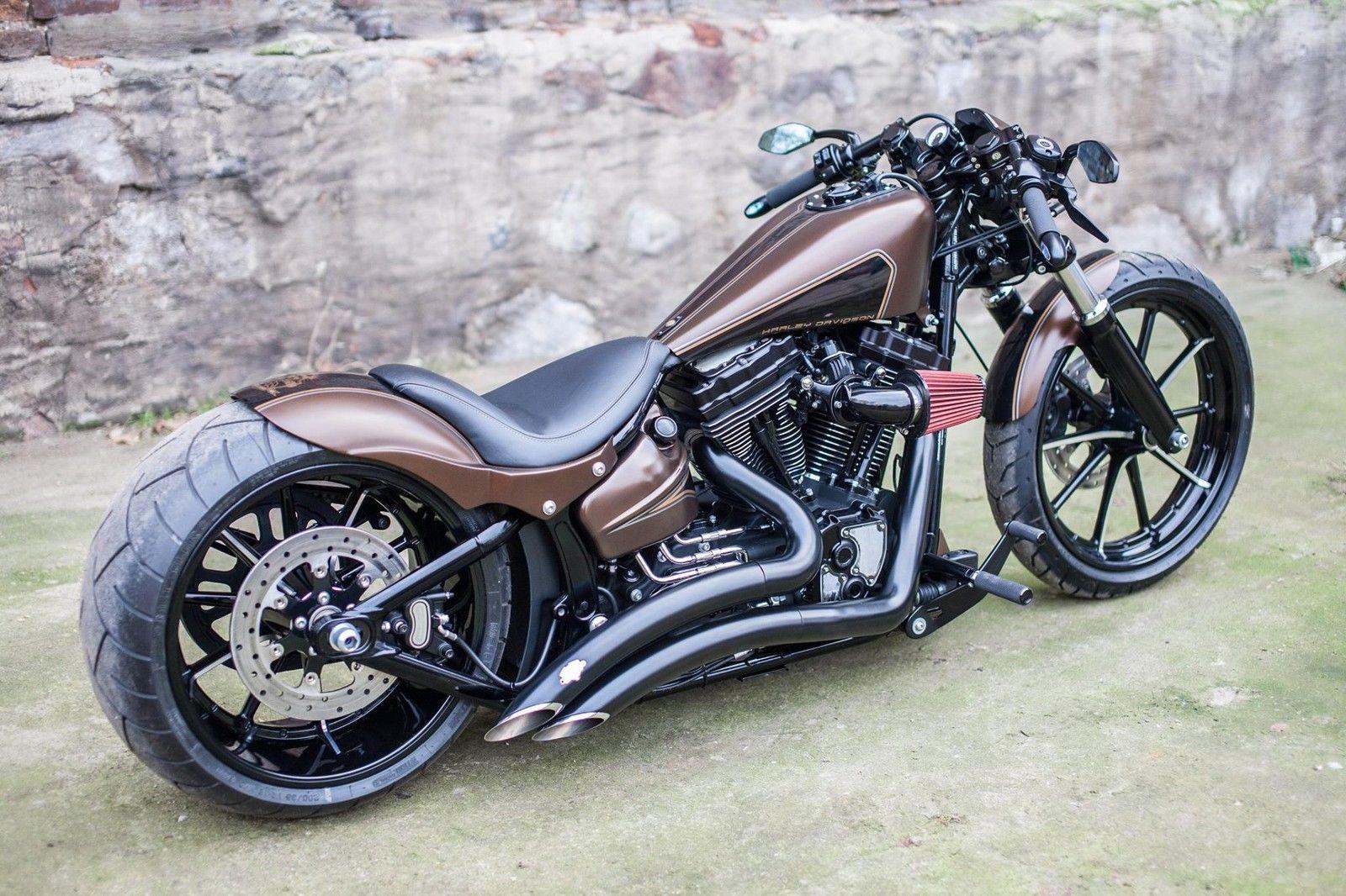 best harley davidson softail breakout custom air ride280mm motorr der motobikes pinterest. Black Bedroom Furniture Sets. Home Design Ideas