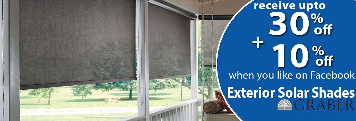 Solar Shades Available For Lowest Price At Zebra Blinds Zebra Blinds Is A Leading Online Shades In The North Am Solar Shades Zebra Blinds Exterior Solar Shade