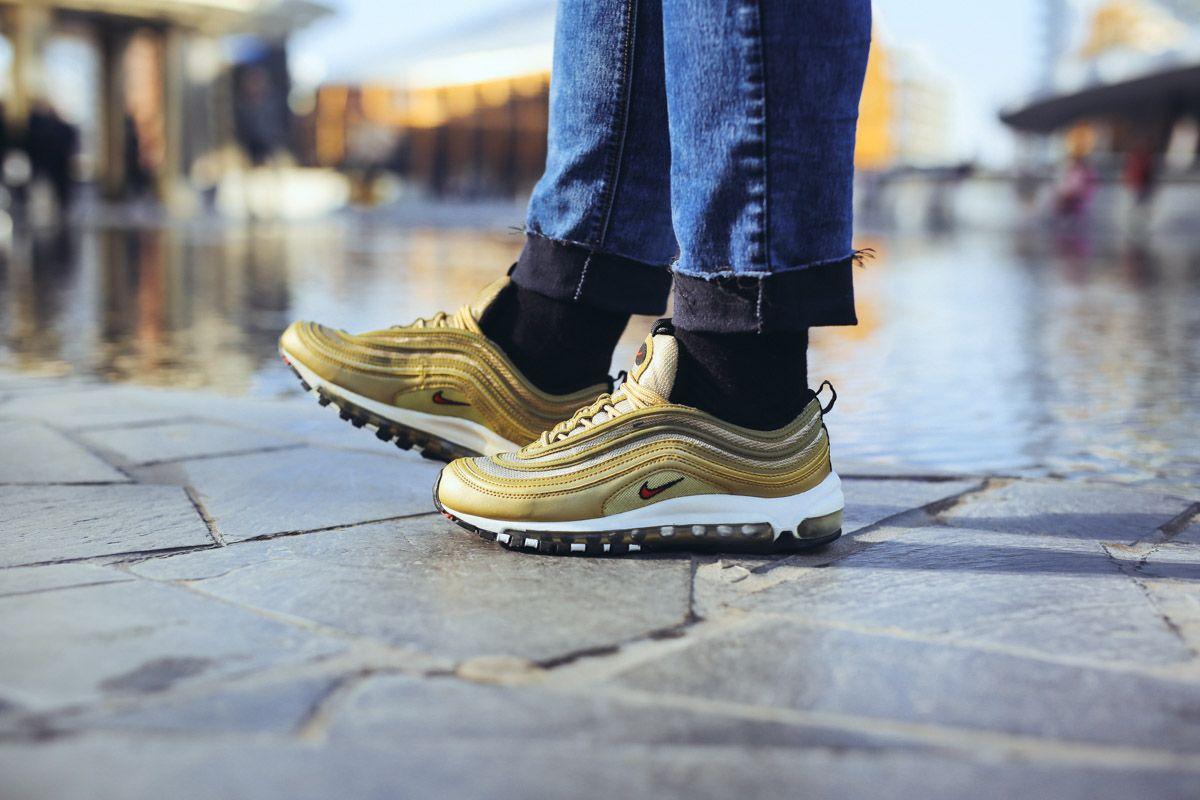 Classics on Feet – Nike Air Max 97 OG Gold | Nike air max ...