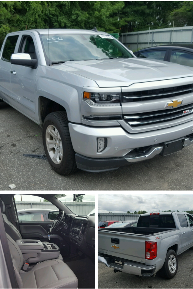 This 2016 Chevrolet Silverado Is Available In Copart S Online Auto