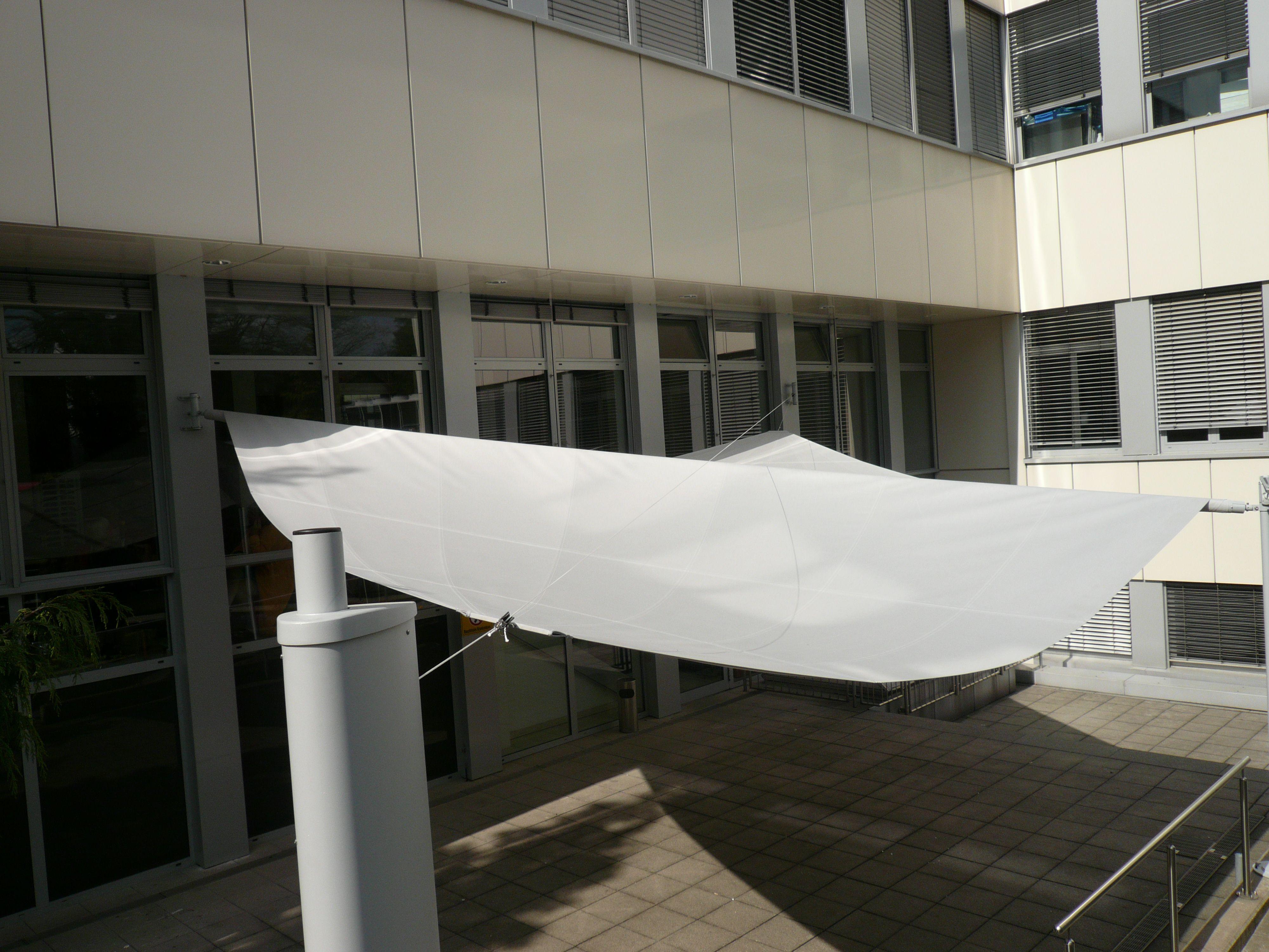 Sonnensegel Bielefeld sonnensegel warema 54m für krankenhaus cafeteria vom