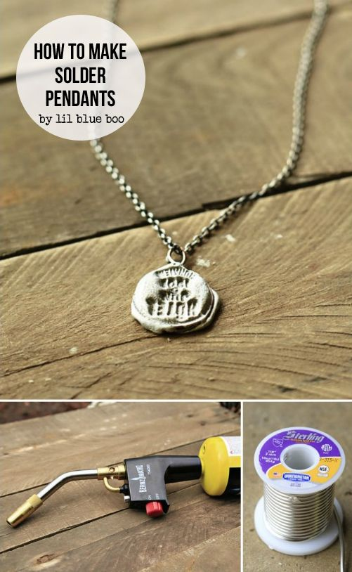 How to make stamped solder pendants plumbing solder torches and how to make stamped solder pendants mozeypictures Gallery