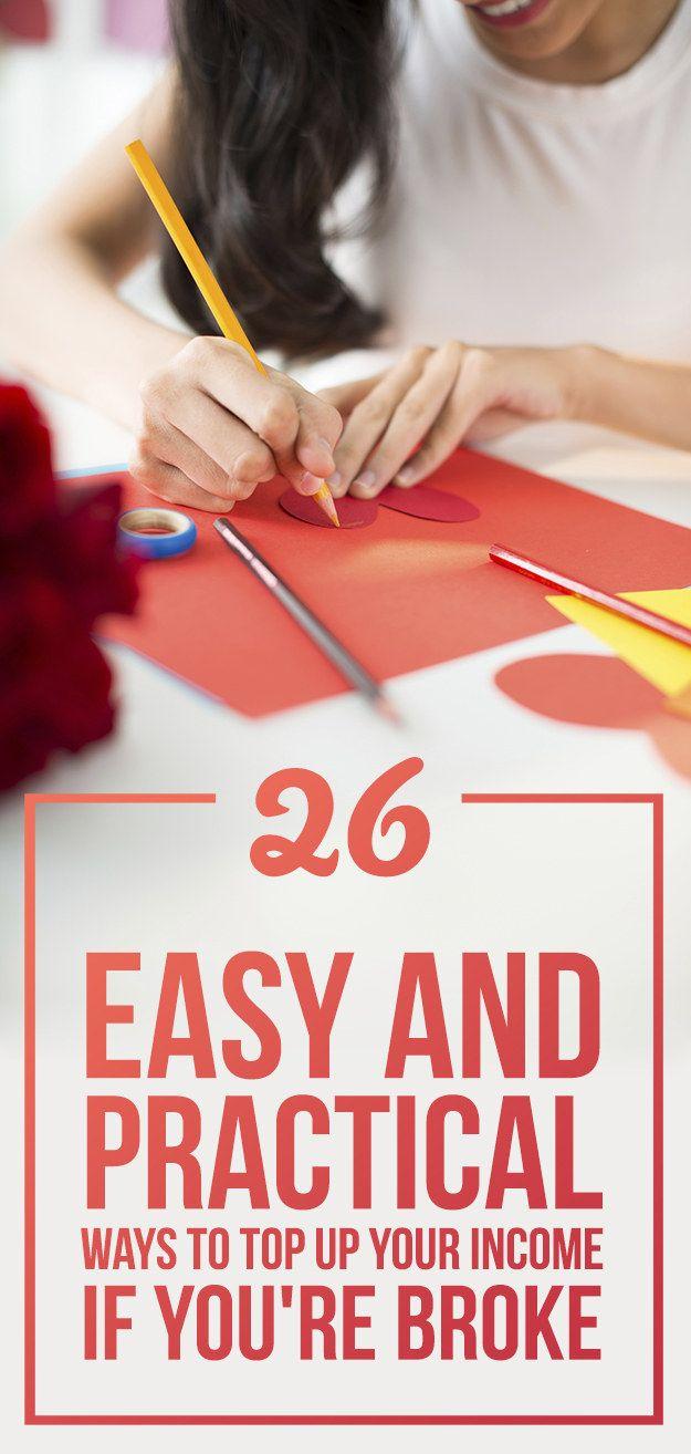 26 totally legit ways to make money in your spare time job geld sparen und finanzen. Black Bedroom Furniture Sets. Home Design Ideas