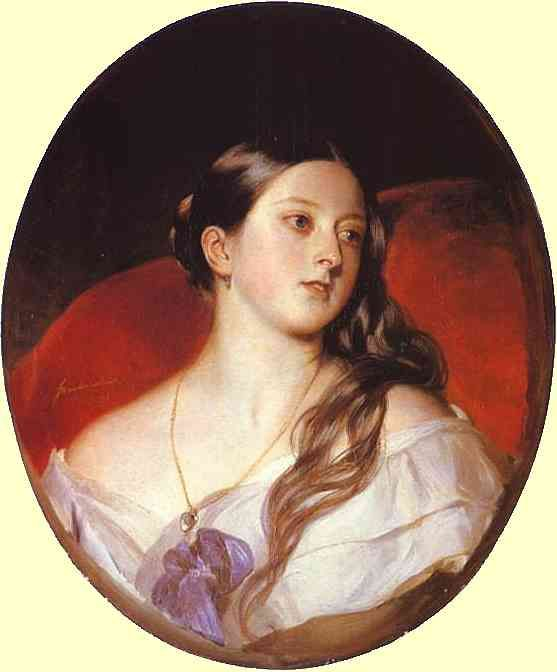 Queen Victoria, by Franz Winterhalter