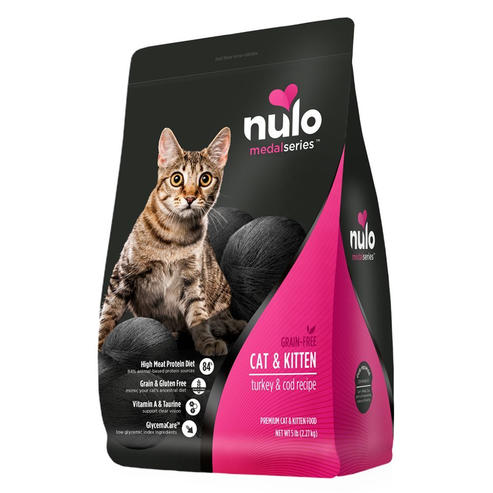 Nulo Medalseries Cat Kitten Food Grain Free Turkey Cod Kitten Food Grain Foods Grain Free Cat Food