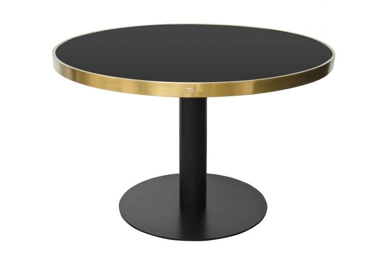 Tisch rund schwarz gold In jedem Esszimmer, Küche oder Wohnzimmer ...