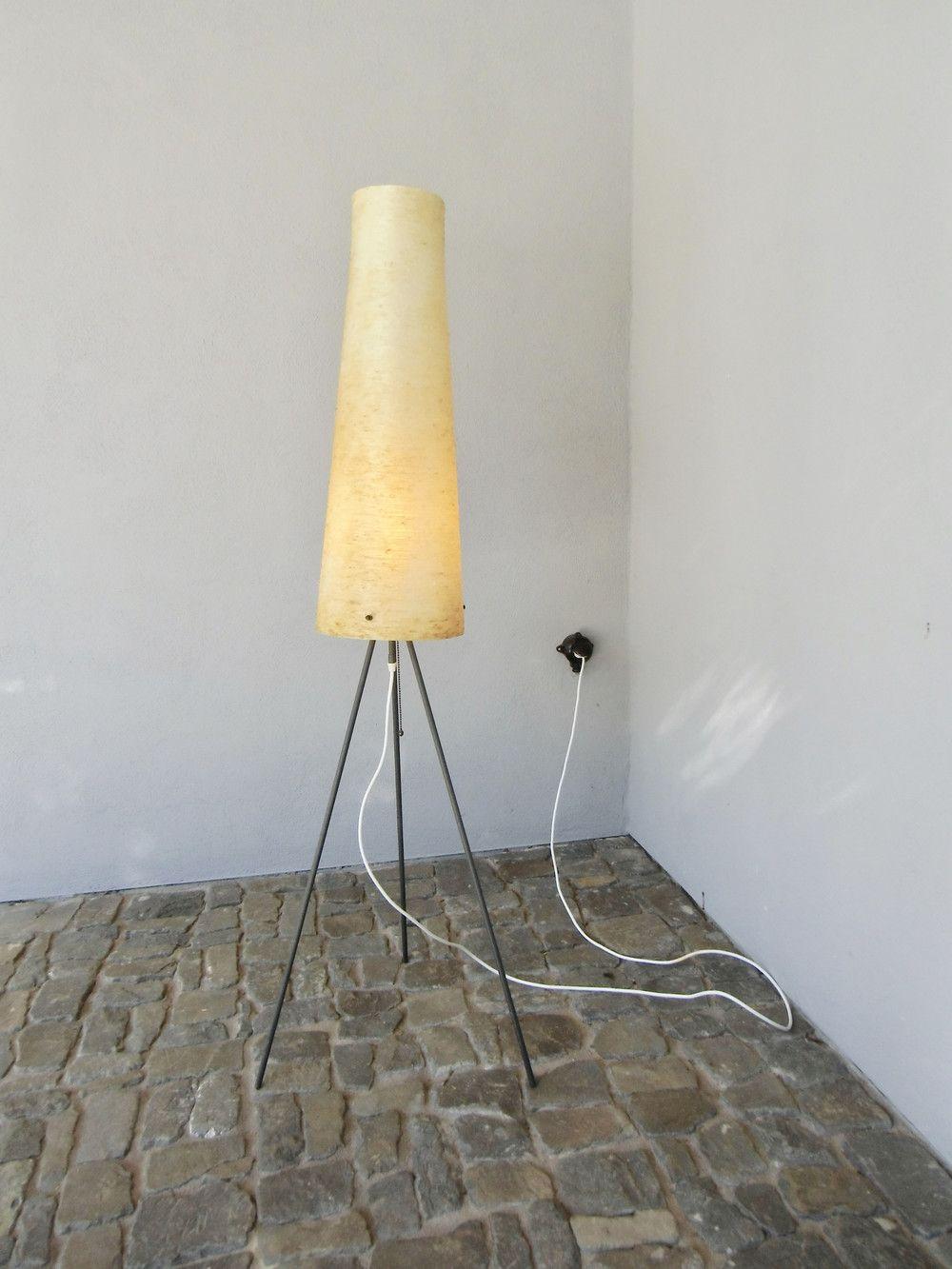 Vintage Stehlampen Tripod Stehlampe 50er Jahre Mid Century Ein
