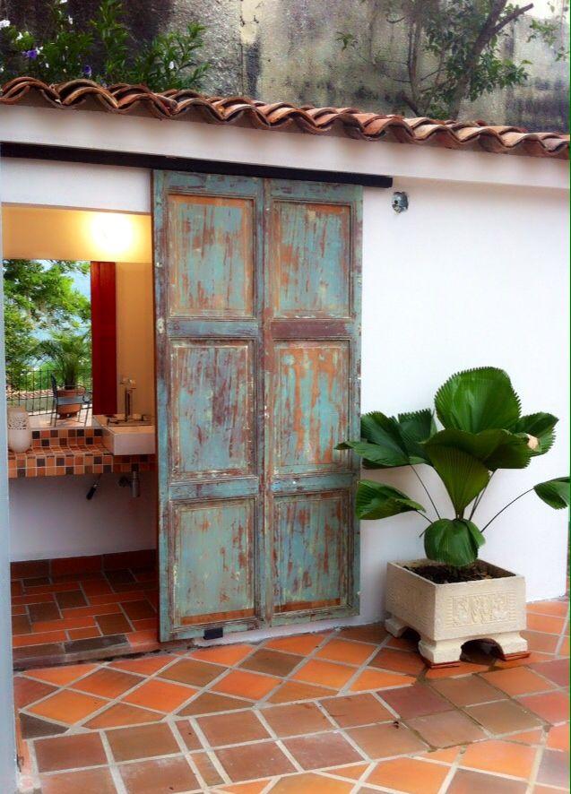 17 Puertas de madera reciclada