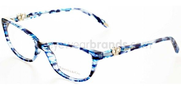 Tiffany & Co 2051B 8130 BLUE HAVANA Tiffany Glasses   FREE Prescription Lenses   UK Opticians