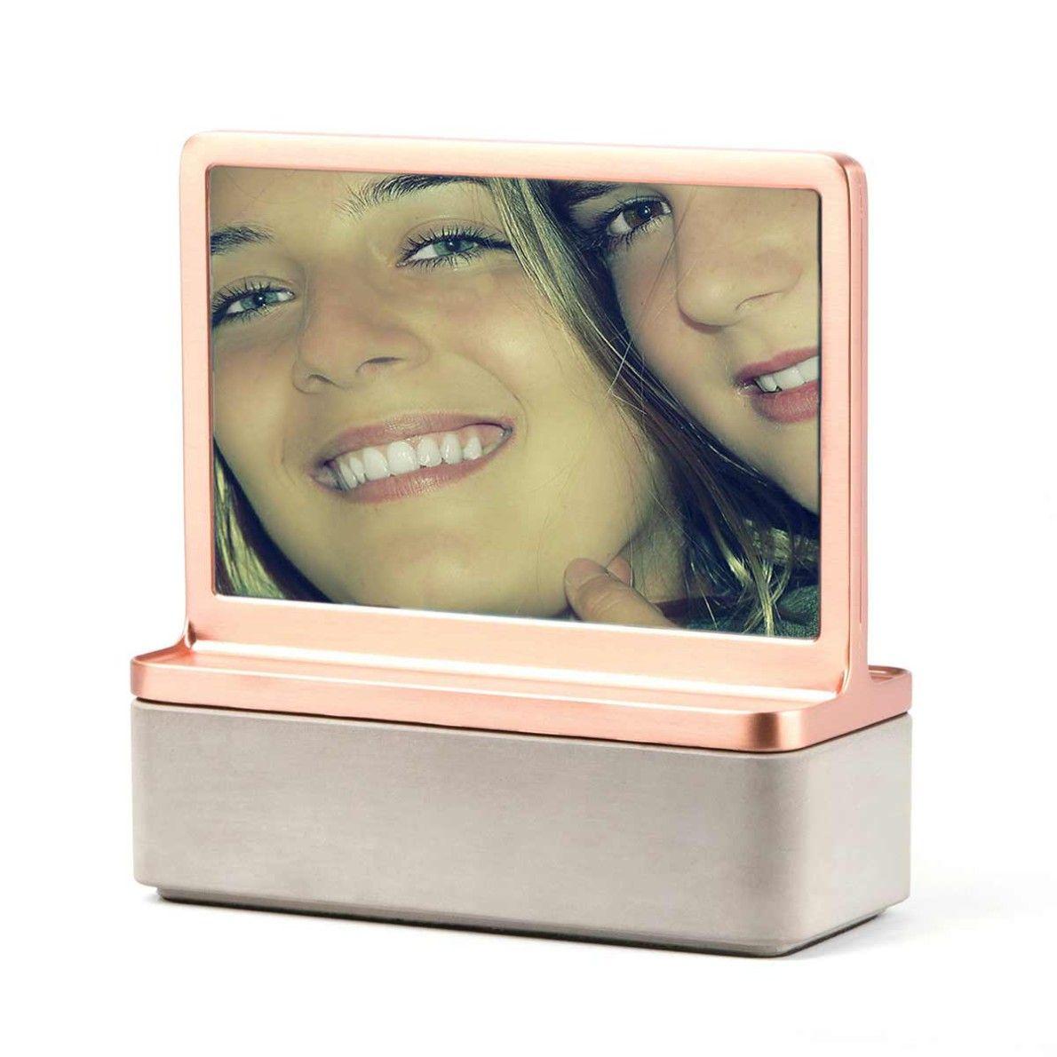 Joyero con marco de fotos | Color cobre, Tiendas de regalos y Fotos ...