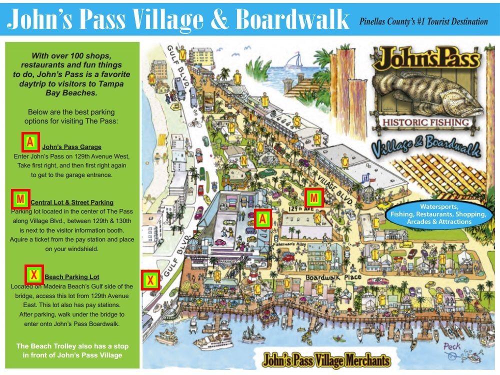John's Pass Village & Boardwalk 12901 Gulf Blvd Madeira