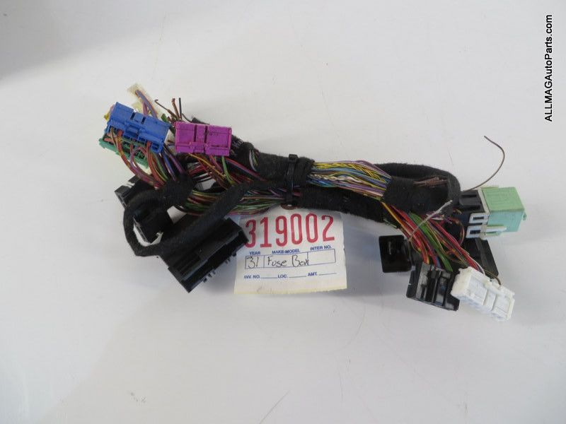 2002-2005 Mini Cooper Interior Fuse Box Wire Harness 31 ...