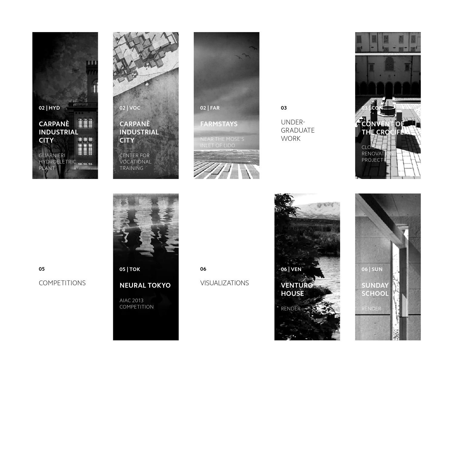 Exceptionnel Andrea Cogo | Architecture portfolio, Architecture and Layouts XZ53